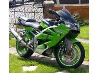 Kawasaki zx6r 2001r
