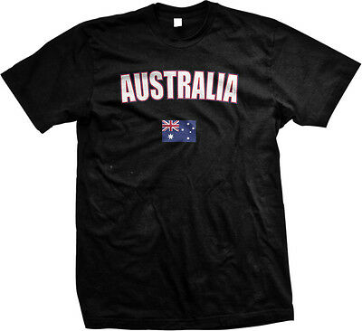 Australia Country Pride Land Down Under Outback Desert Mens T-shirt