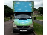 DORSETS CHEAPEST REMOVALS 2 MEN PROFESSIONAL RELIABLE REMOVAL SERVICE MERCEDES LUTON 3.5 TON