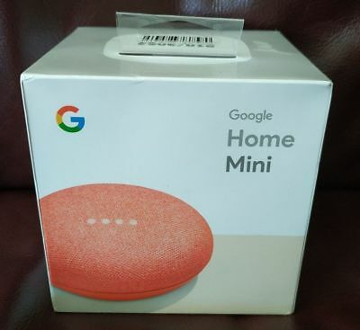 Google Home Mini - Brand New Exclusive Coral Color