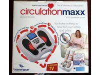 Circulation Booster, Circulation Maxx Electrical Stimulator Massager Unused AS NEW