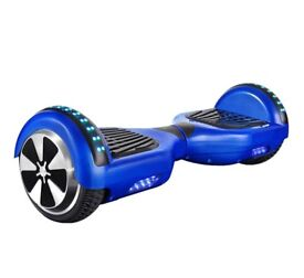 Original blue Hoverboard Segway with Bluetooth speaker Samsung battery