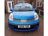 Nissan note 1.5 dci Se 77000miles with full mot