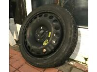 Vauxhall Vectra 5x110 Fitment Space Saver Spare Wheel