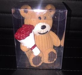Valentines Day Gift🌹Cute Small Bear With Flowers🌹