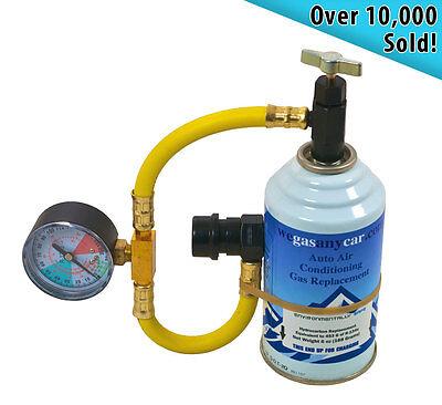 Car Aircon Air Con Conditioning Top up Topup Recharge Refill Regas DIY Gas Kit