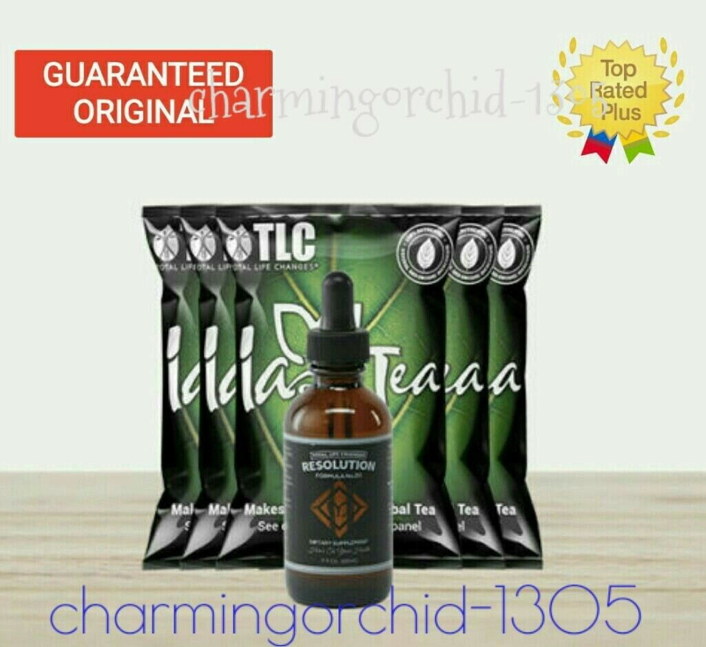💝PROMOTION💝TLC Control Kit- Iaso Tea & Resolution Drop