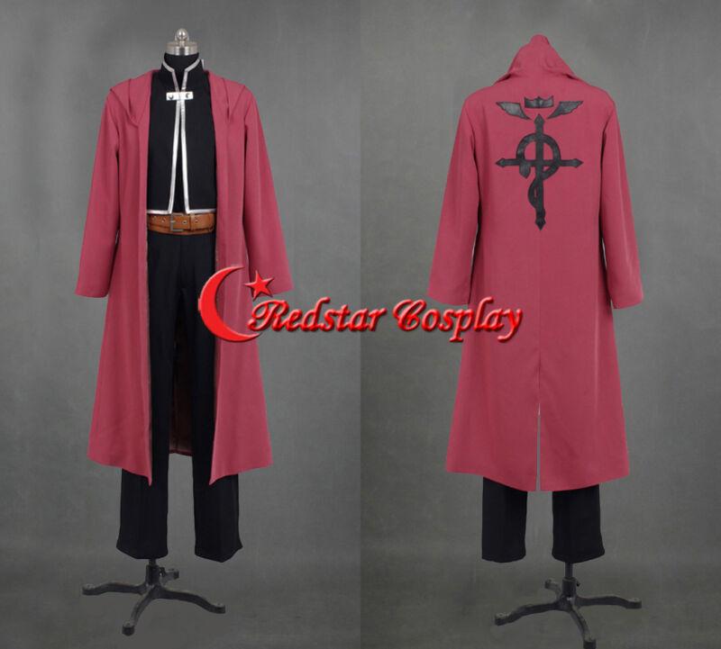 Fullmetal Alchemist Edward Elric Cosplay Costume - Custom made in Any size