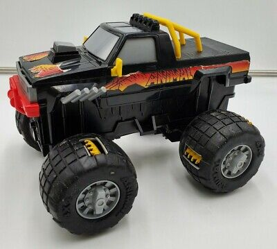 Animal Claw 1984 Galoob Vintage Motorized Monster Truck 4x4 Tested and Works!