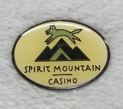 Spirit Mountain Hotel Casino metal hat/ lapel pin  Grand Rhonde (Hotel Metal)