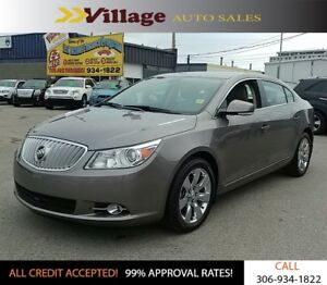 2011 Buick LaCrosse CXS Harman/Kardon Audio System, Bluetooth...