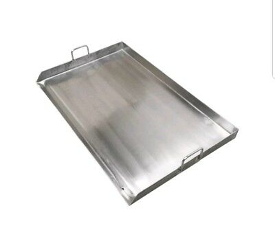 32 X 18 Stainless Steel Griddle - Double Flat Top Grill - Plancha - Heavy Duty
