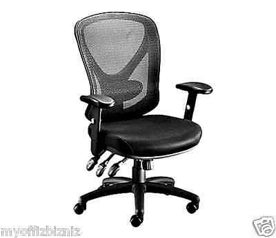 Comfort Executive Office Chair - Computer Desk Chair Ergonomic Office Home Comfort Adjustable Executive Black New