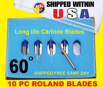 10x60 High Quality Roland Vinyl Cutter Plotter Blades New In Box