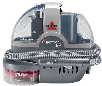 BISSELL Spotbot Pet Handsfree Stain Cleaner With Deep Reach Technology Brand New