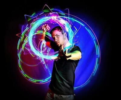 Light Up Rave Toys (EmazingLights Orbite X3, 4 Light Spinning LED Orbit, Light Up Rave)