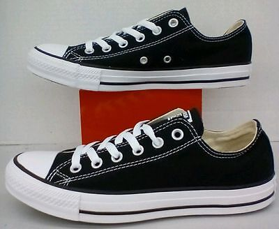 Converse All Star Chuck Taylor Low Top Canvas Black/White M9166 All Size