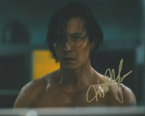 Will Yun Lee Altered Carbon Autographed Signed 8x10 Photo COA