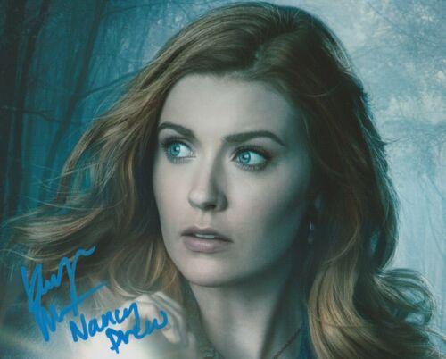 Kennedy McMann Nancy Drew Autographed Signed 8x10 Photo COA 2019-65