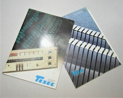 Tesec Semiconductor Equipment Company Profile Catalog 198485