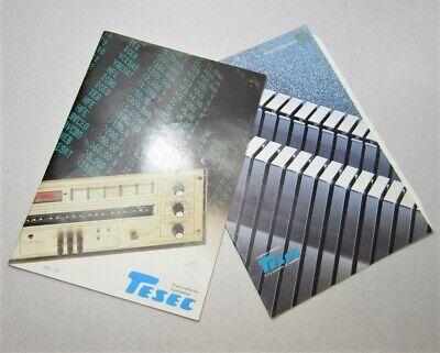 Tesec Semiconductor Equipment Company Profile Catalog 198485