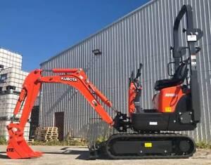 Kubota K008-3 Micro Excavator Kewdale Belmont Area Preview