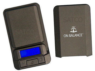 On Balance LS 100 Scale Mini Digital Lite Scale 100g x 0.01g Pocket Jewellery