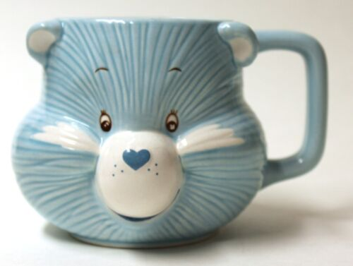 Vintage The Care Bears Bedtime Bear Porcelain Mug