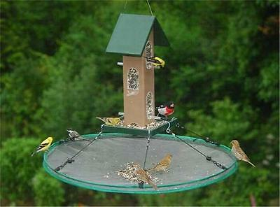 "Songbird Essentials 30"" SeedHoop SEED HOOP SEED CATCHER PLATFORM BIRD FEEDER"