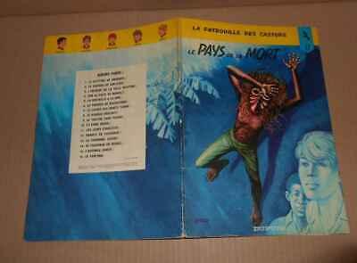 Vieille BD Mitacq Patrouille des Castors n°17 Pays de la Mort EO 1972 BE-