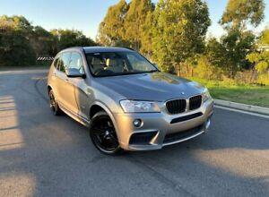 2012 BMW X3 F25 MY0412 xDrive20i Steptronic Grey 8 Speed Automatic Wagon Darra Brisbane South West Preview