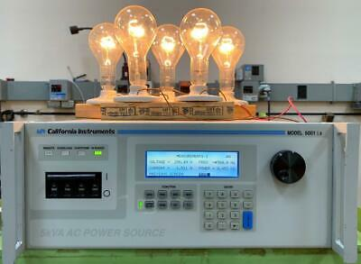California Instruments 5001ix 5 Kva Ac Power Source