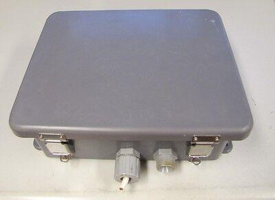 Robroy J1008hpl Ktd-125-24 Security Non Metallic Fiberglass Electrical Enclosure