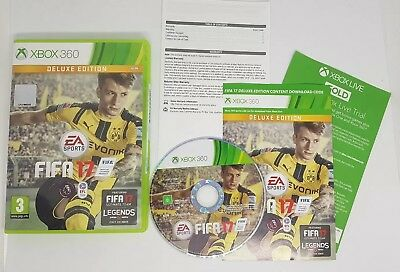 FIFA 17 Deluxe Edition for Xbox 360 (NO DLC)  FAST FREE UK POST