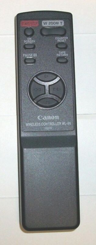 Canon WL-69 10537A OEM Wireless Remote Control Unit