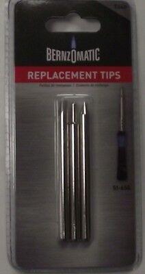 Bernzomatic T040 Soldering Gun Replacement Tips 3pk For Si-650