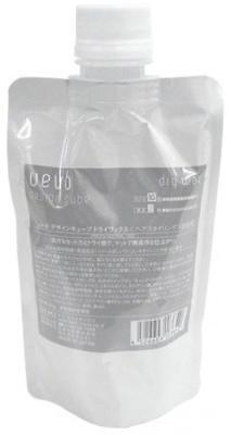 UEVO Design Cube Hair Styling Wax Refill Dry Wax 200g From Japan