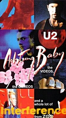 U2 VHS Achtung Baby Videos Cameos and a Whole Lot of Interference From Zoo TV