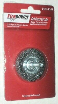Victor Firepower 1423-2101 Crimped End Wire Brush Wheel Circular 14 X 2 Dia