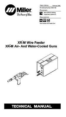 Miller Xr-m Wire Feeders And Guns Technical Manual Kf801189 - Zz222222