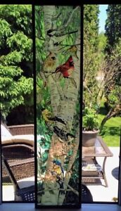 Large Stained Glass Piece