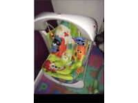 Fisher price baby bouncer and swing