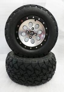 "Golf Cart Wheels & Tires 12"" Beadlock Wheels - Customize your Cart!!"