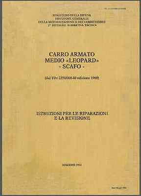 Galeria CARRO ARMATO FIAT OTO MELARA LEOPARD 1982 Scafo Manuale Riparazioni - DVD
