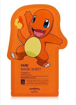 Tony Moly  Pokemon Fairi Ver  Facial Masks Sheet Pack Korean Charmander 1Ea 01
