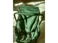 Fishing seat bag