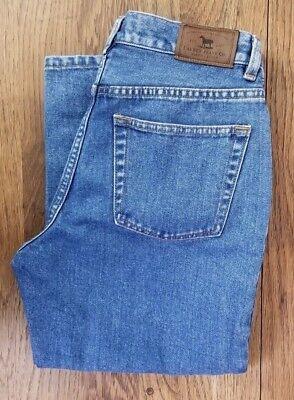 - Women's Sz 4 Ralph Lauren LRL Jeans Co Capri MOM Jeans 3/4 Length Actual 28 x 21
