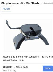 Reese elite series 25 k fifth wheel hitch