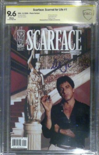 Scarface: Scarred for Life #1 photo__CBCS 9.6 SS__Signed by Al Pacino - not CGC