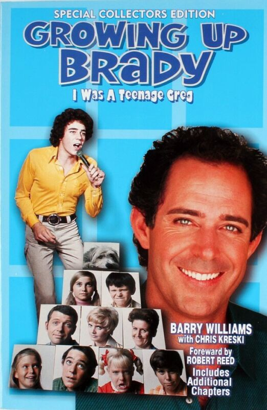 "BARRY WILLIAMS DIRECT! ""GROWING UP BRADY"" BOOK SIGNED TO YOU! * THE BRADY BUNCH"